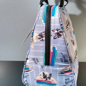 Betsey Johnson Bags - Betsey Johnson Lunch Tote - French Bulldog/Terrier